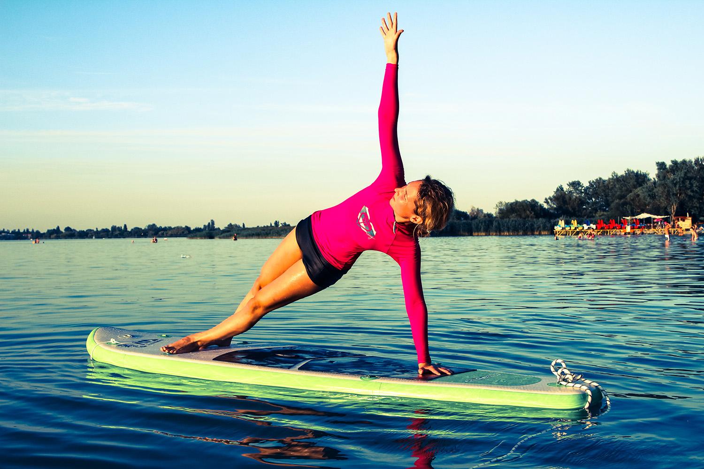 Sup yoga Balatonföldvár